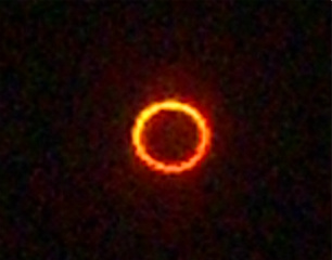 Annular solar eclipse May 20, 2012 in Albuquerque