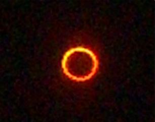 Annular solar eclipse May 20, 2012 in Albuquerque