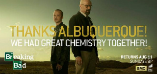 Breaking Bad billboard thanks Albuquerque