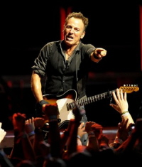 Bruce Springsteen - AP Photo-The Detroit News, Ricardo Thomas