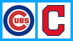 Cubs and Indians in the World Series