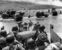 D-Day invasion - photo Associated Press3