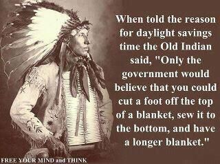 Government reasoning for daylight savings time