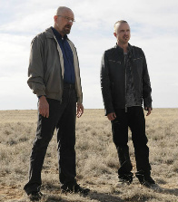 Walt and Jesse of Breaking Bad