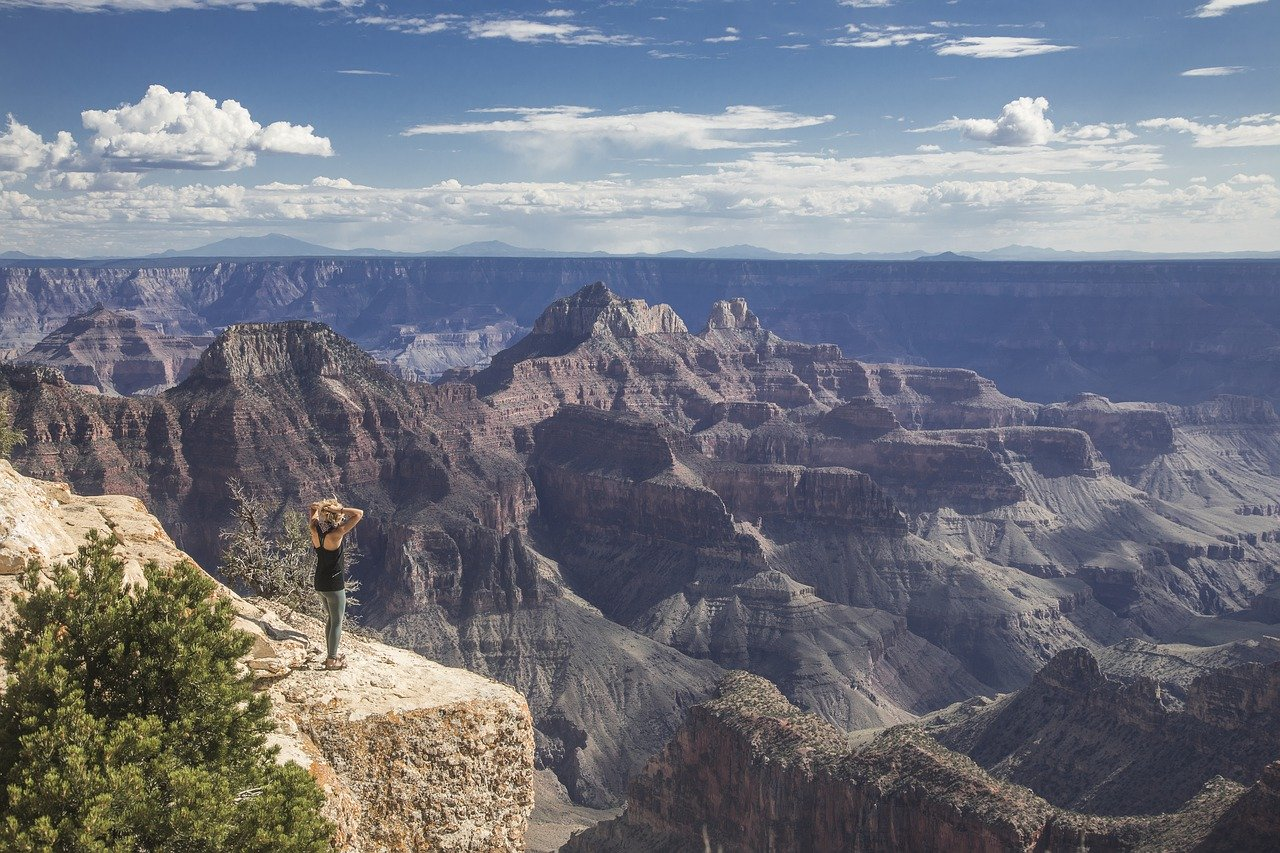 The Grand Canyon is a grand site