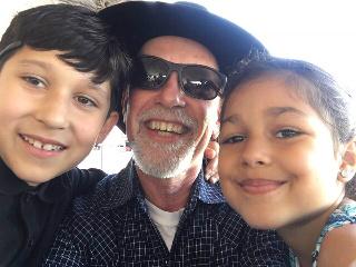My grandkids on grandparents day