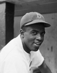 Baseball great Jackie Robinson