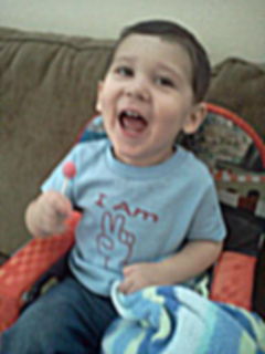 Jacob Ray at two years old