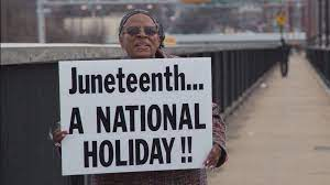 Juneteenth now a national holiday