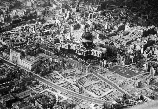 London after bombing from World War 2
