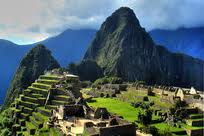 Machu Picchu Incan city in Peru