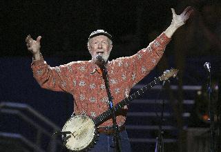 Pete Seeger, folk singer hero dies
