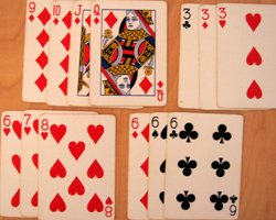hobbies such as playing cards
