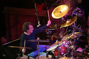 Drummer Richie Hayward of Little Feat