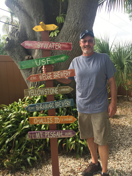 Personalized Life Mile Marker Post