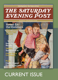 Saturday Evening Post home for the holidays issue