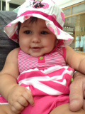 Sophia Autumn Del Curto at 8 months