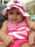 Sophia Autumn Del Curto at 8 months
