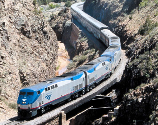 Amtrak Southwest Chief train