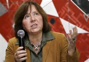 Nobel Prize winner for literature 2015, Svetlana Alexievich