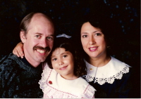 Me with daughter Kristen and wife, Annette years ago