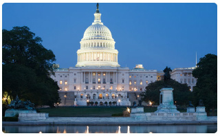 United States Capital Building in Washington D.C.