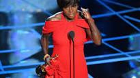 "Viola Davis accepts Oscar for ""Fences"""