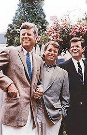 Kennedy brothers, John, Robert and Edward