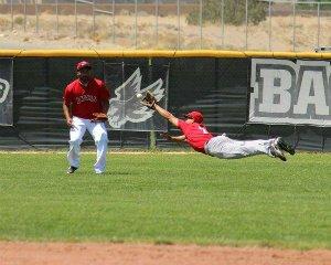 Great baseball catch by A. J. Trujillo