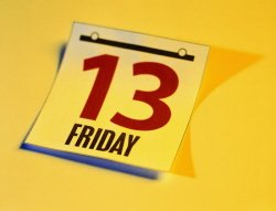 Friday the 13th superstitions