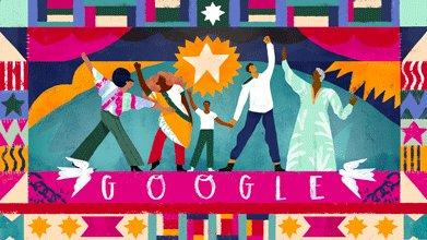 Google Doodle Juneteenth
