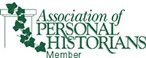 Member of Association of Personal Historians
