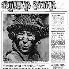 Rolling Stone magazine first issue cover