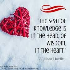 wisdom in the heart